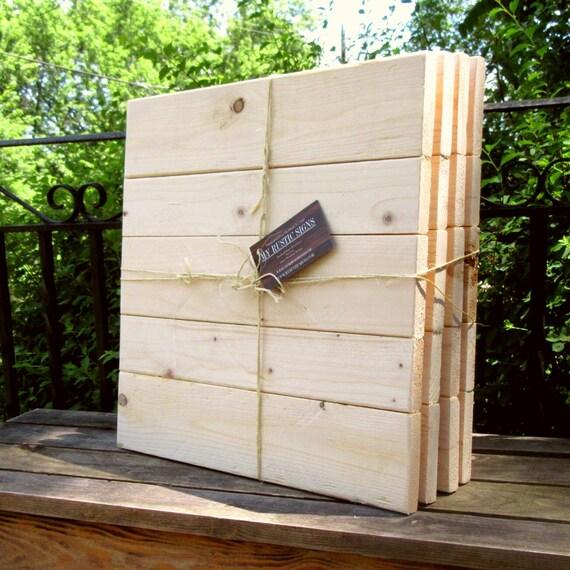 Wholesale Pallet For Sale: Rustic Wood Sign Blanks / Multi Pack Of DIY Wood Signs