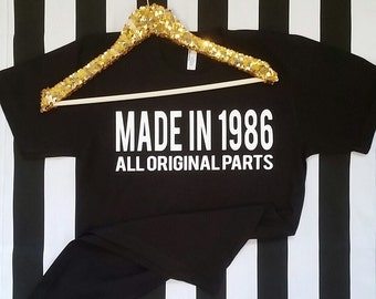 Made In 1986 Shirt
