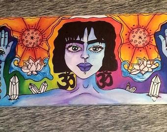 Chakra peace painting