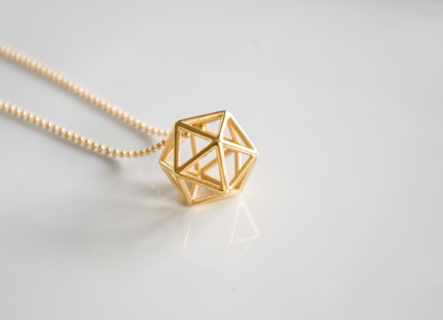 final geometric light crochet reveal polyhedron pendant shop industrial