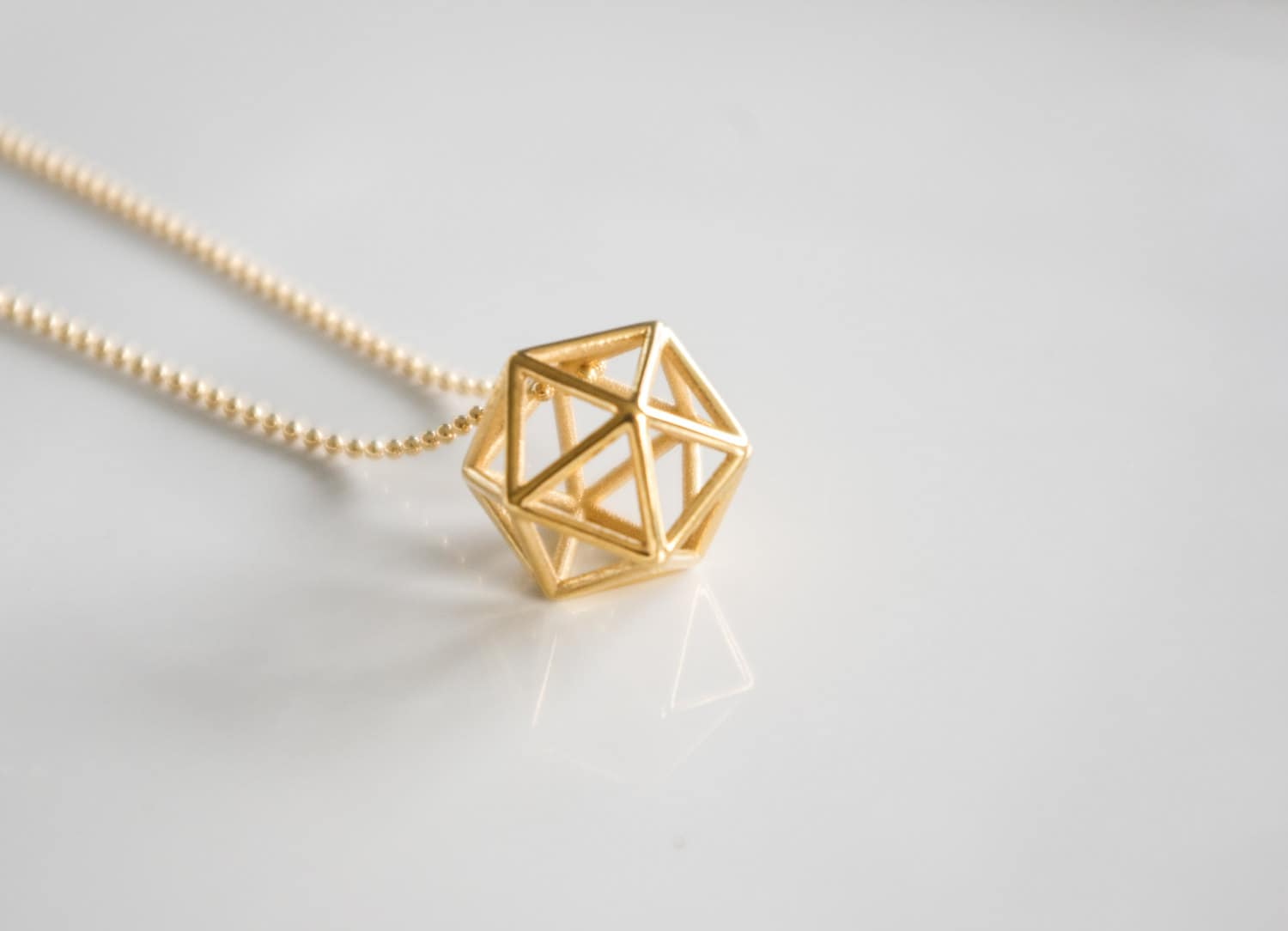 single sm jewellery collections small little geo gold pend pendant products rebecca geometric