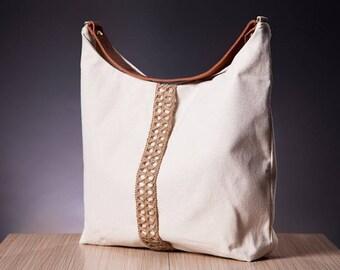 The Ecru Hobo Bag