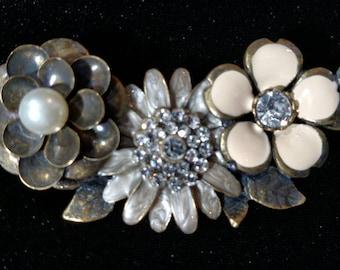 Flower Bar Hair Jewelry