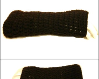 Claire's Fingerless Gloves Crochet Digital PDF Pattern Easy Basic Pattern Not a Finished Product