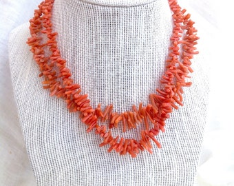 REAL Branch Coral Necklace