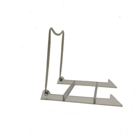 sc 1 st  Etsy & Vinyl Plate Stand Easel 5x7 1/2x7 Multiple Sizes