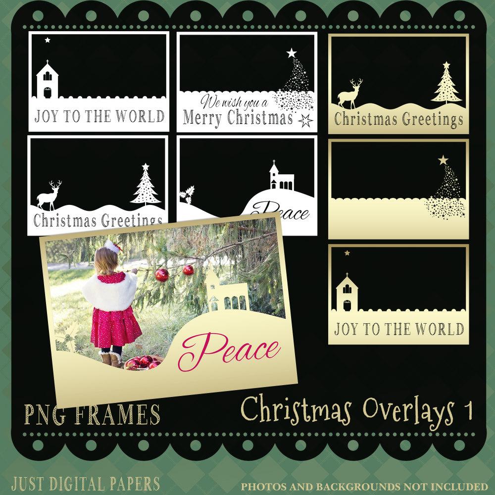 Weihnachten Bilder Weihnachten-Overlay PNG Frames