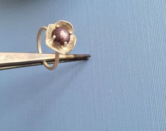 Flower Fancy Poppy Ring