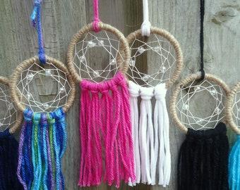 Set of Mini Dream Catchers - Bulk Dream Catchers - Party Favours - Wedding Favours - Handmade Gifts