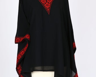 Kaftan Sheer Blouse
