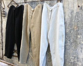 Henri Heavy Linen Pants