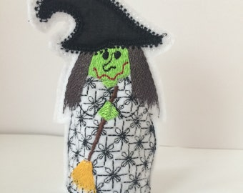 Halloween Witch tea light cover