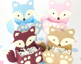 Fox Party Box/Woodland Party Box/Woodland Party Bag/Woodland Birthday/Woodland Baby Shower/Fox Party Bag/Woodland Party Bag/Fox Party