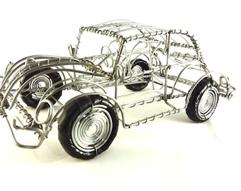 Recycled Wire V/W beetle