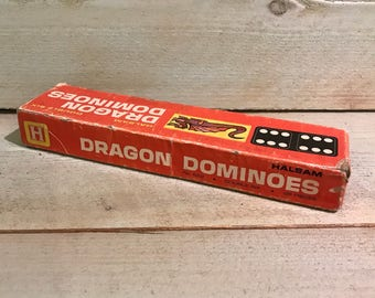 Dragon Dominoes by Halsam Double Six 28 pieces