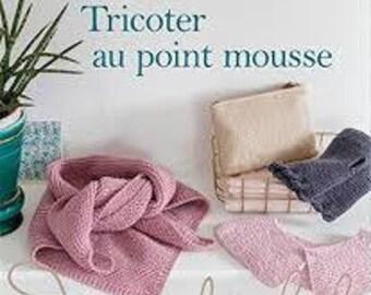 Book: Knit in garter stitch