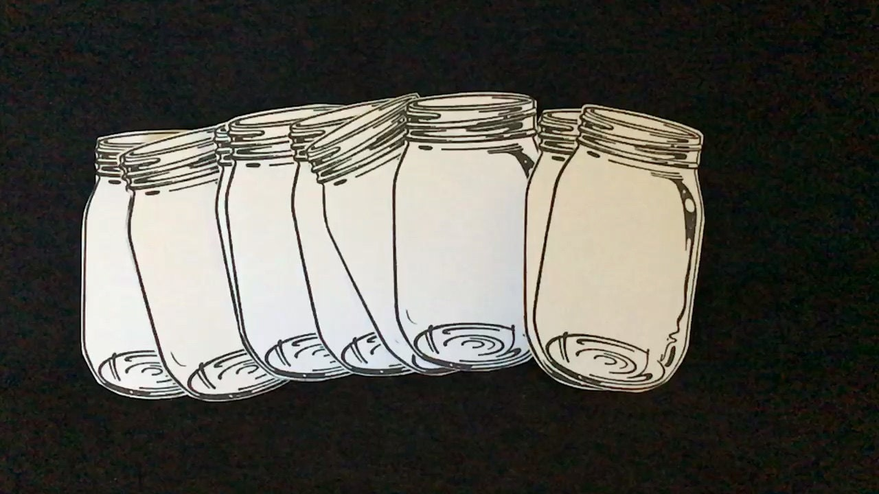 Mason Jar Stickers-Canning Labels-Canning Jar Stickers-Journal Spots ...