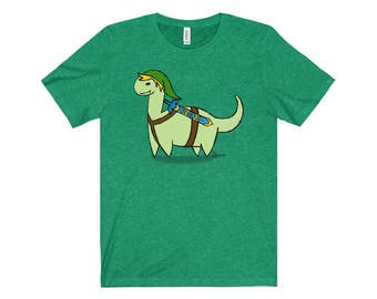 Legend of Zelda Inspired Dino Link Tee (More Colors)