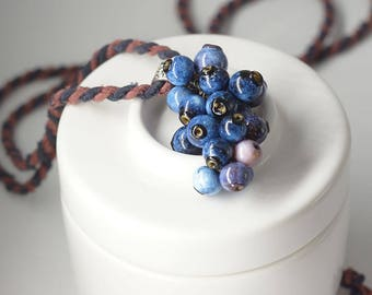 Blueberry pendant