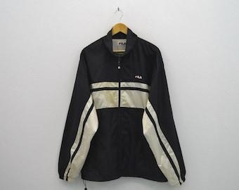 Fila Windbreaker Men Size XL 90s Fila Jacket Fila Vintage Casual Jacket