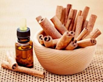 Cinnamon Bark Essential Oil 10 ml 100% PURE CHEMICAL FREE