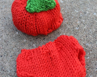 Pumpkin Newborn Photo Set