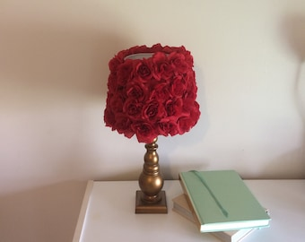 Red Rose Lamp