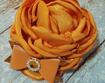 Orange AMELIA single bloom