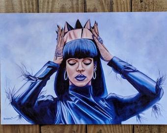 "Rihanna 12x18"" Prints"