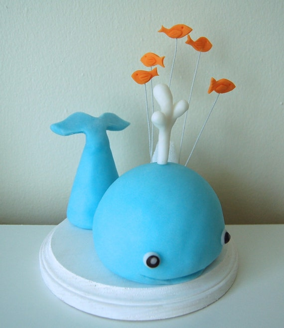 How To Make A D Whale Cake