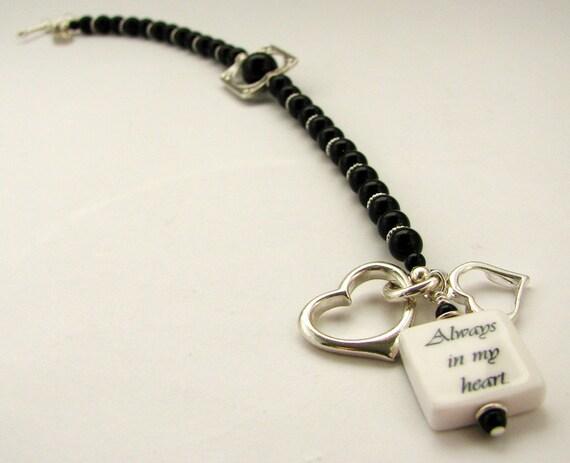 Charm Bracelet with a Mini Photo Charm - C4B7