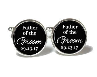 Father of the Groom Cufflinks Style 679