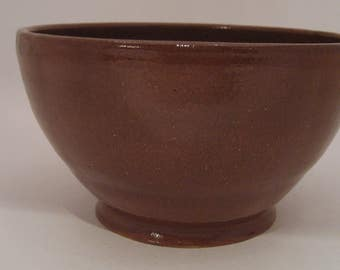 Hand Thrown Pottery Serving Bowl