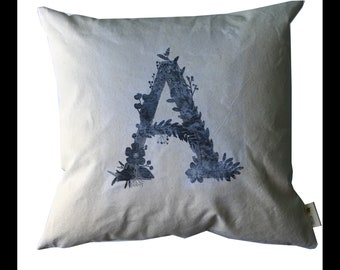 Letter Pillow Cover,Number pillows,Ampersand