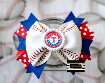 Texas rangers Baseball Bow