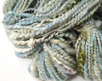 Handspun Merino Multi-Fiber Blend Yarn, 100 yds. (Free US Ship)