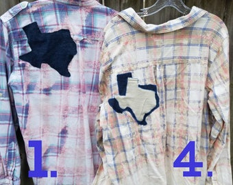 Texas Distressed Flannels