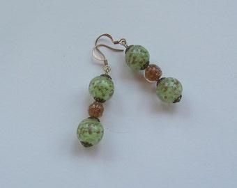 Venetian glass earrings
