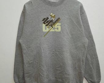 Vintage Sweatshirt Twenty five 025 theorem big Logo print nice design from Russia