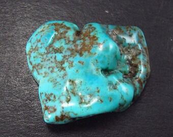 "Genuine Sleeping Beauty Turquoise from Arizona, USA - 1.2"""