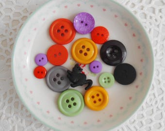 Halloween buttons (pack of 15)