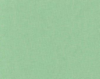 Asparagus Kona Cotton, Green Fabric, Robert Kaufman Fabrics, Half Yard