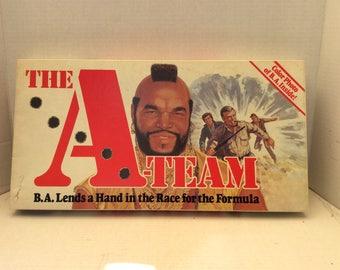 Vintage A-Team game