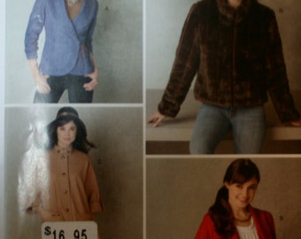 Simplicity 2150 Misses Jacket Sewing Pattern New/Uncut  Size: 6-8-10-12-14