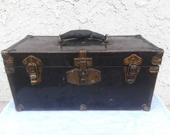 Vintage  Small  Chest  &  Trunk