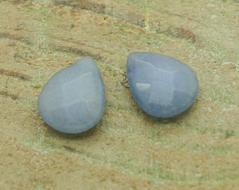 Large faceted jade shape bead