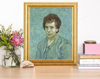 Bob Dylan Van Gogh Artwork