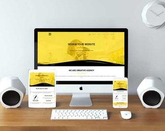 FlexTheme Agency WordPress Theme - Responsive Freelancer & Portfolio Template - Business WordPress Theme - Freelancer Theme
