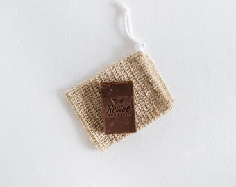 READY TO SHIP! Natural Sisal Soap Pouch - Soap Saver Sack
