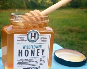 Medium Wildflower Honey